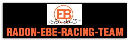 RADON-EBE-Racing-Team with the professional sportswoman Elisabeth Brandau